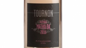 Domaine Tournon Mathilde Rosé 2016 Label
