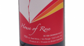 House of Rose 2014 Merlot | Red Wine
