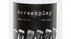Screenplay 2009 Red Wine Label