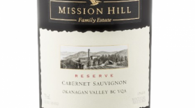Mission Hill Reserve 2013 Cabernet Sauvignon Label