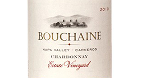 Bouchaine Estate Chardonnay Label