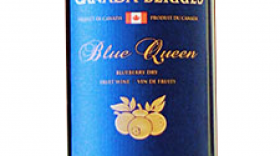 Canada Berries Blue Queen Dry Label