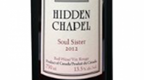 Hidden Chapel Winery 2013 Soul Sister Label