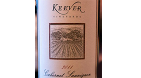 Keever  2011 Cabernet Sauvignon | Red Wine