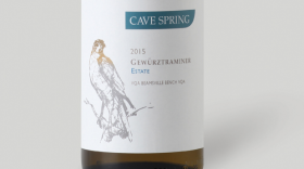 Cave Spring Cellars 2015 Gewürztraminer Label