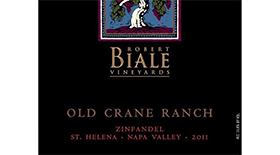Old Crane Zin Label