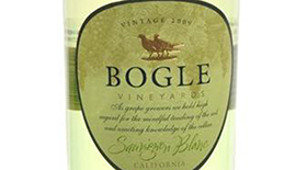 Bogle Vineyards 2013 Sauvignon Blanc Label