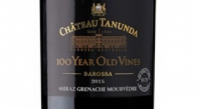 Chateau Tanunda 2015 '100 Year Old Vines' Shiraz Grenache Mourvedre Label