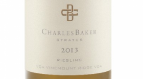 Charles Baker Picone 2013 Riesling Label