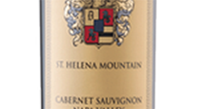 St Helena Mountain Cabernet Sauvignon Icone Label