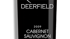 Deerfield Ranch Winery 2009 Cabernet Sauvignon Label