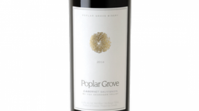 Poplar Grove Winery 2014 Cabernet Sauvignon Label
