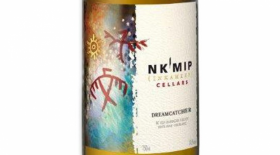 Nk'Mip Cellars 2017 Dreamcather Label