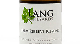Farm Reserve Riesling Label