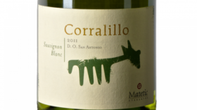 Matetic Vineyards Corralillo 2011 Sauvignon Blanc Label
