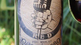 ROCKER Red Merlot, Label