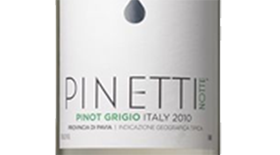 Pinetti Notte 2010 Pinot Gris (Grigio) Label