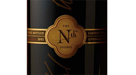 The Nth Degree Cabernet Sauvigon Label