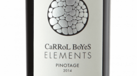 Carrol Boyes Elements Pinotage 2014 Label