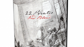 22 Pirates Red Blend Label