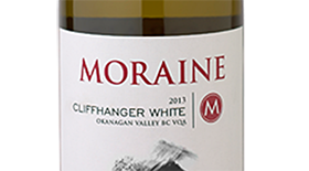 Moraine Cliffhanger White 2013 Label