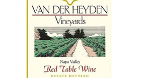 Red Table Wine Label