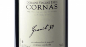 Domaine Vincent Paris Cornas Granit 30 2015 Label