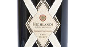 Highlands Cabernet Sauvignon Napa Valley Label