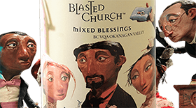 Blasted Church Mixed Blessings 2013 Label
