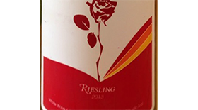 House of Rose 2013 Riesling Label