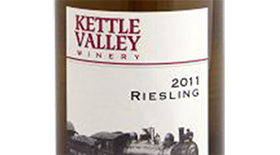 Kettle Valley Winery 2011 Riesling Label