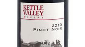 Kettle Valley Winery 2010 Pinot Noir Label