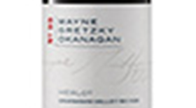 Wayne Gretzky Estates 2011 Merlot Label