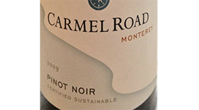 Carmel Road Winery 2009 Pinot Noir | Red Wine