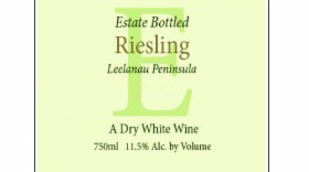 Longview Winery 2010 Dry Riesling Label