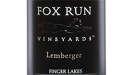 Fox Run Vineyards 2012 Blaufränkisch (Kékfrankos) Label