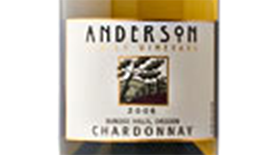 Anderson Winery & Vineyard 2009 Chardonnay | White Wine