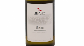 The View Winery 2017 Riesling Label