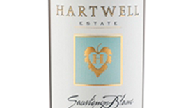 Hartwell Estate Sauvignon Blanc Label