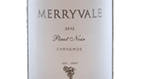 Merryvale 2009 Pinot Noir Label