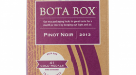 Bota Box Pinot Noir Label