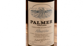 Palmer Vineyards 2013 Albariño Label