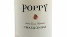 Poppy Wines 2015 Chardonnay Label