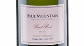 Blue Mountain Vineyard and Cellars 2013 Brut Rose Label