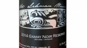 Mt. Lehman Winery 2014 Gamay Noir | Red Wine