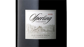 Sperling Vineyards 2011 Old Vines Foch  | Red Wine