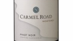 Carmel Road Winery 2013 Pinot Noir Label