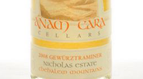Anam Cara Cellars 2012 Gewürztraminer Label