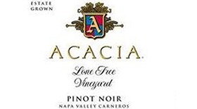 Acacia Vineyard Lone Tree Vineyard 2011 Pinot Noir Label
