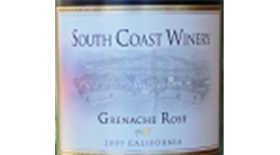 Grenache Rose Label
